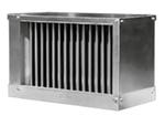 Воздухоохладитель водяной для прямоугольных каналов системы вентиляции