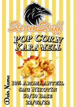 Karamell-Popcorn, karamellisiertes Popcorn, Popcorn als Liquid, Popcornaroma