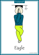 Kinderyoga Flashcards Eagle