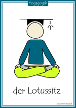 Kinderyoga Flashcards Lotus