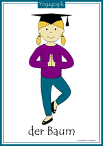 Kinderyoga Flashcards Baum Yolanda