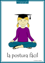Kinderyoga Flashcards Postura facil