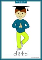 Kinderyoga Flashcards Arbol