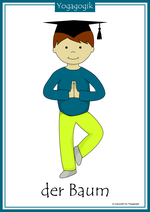 Kinderyoga Flashcards Baum