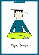 Kinderyoga Flashcards Easy Pose
