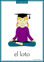Kinderyoga Flashcards Loto