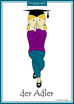 Kinderyoga Flashcards Adler