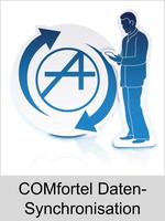 Freischaltungen und Funktionserweiterungen: Dongle-Freigabe, Freischaltcode, Aktivierung für Telefone: COMfortel Daten-Synchronisation