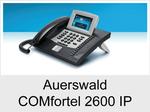 Auerswald COMfortel 2600 IP: Schnurgebundenes IP-Systemtelefon mit Headsetanschluss