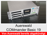 "Archiv - Telefonanlage: Auerswald COMmander Basic 19"""