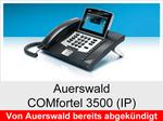 Auerswald COMfortel 3500 (IP): Schnurgebundenes Systemtelefon mit DHSG-Unterstützung