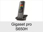 Gigaset pro/Schnurlose Telefone/S650H