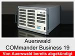 """Funktionserweiterungen und Freischaltungen für Auerswald COMmander Business 19"""": Anlagenkonfigurationen"""