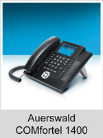 Freischaltungen und Funktionserweiterungen: Dongle-Freigaben und Freischaltcodes für Auerswald COMfortel 1400