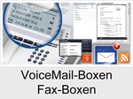 Funktionserweiterungen und Freischaltungen für Anlagen und Telefone: VoiceMail-Boxen / Fax-Boxen (VMF-System)