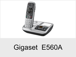 Schnurloses Telefon: Gigaset E560A
