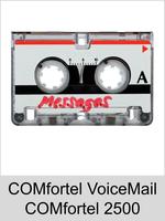 Freischaltungen und Funktionserweiterungen: Dongle-Freigabe, Freischaltcode, Aktivierung für Auerswald COMfortel 2500: COMfortel VoiceMail