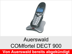 Archiv - Schnurloses ISDN Telefon: Auerswald COMfortel 900