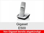 Archiv - Schnurloses Telefon: Gigaset E500
