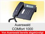 Archiv - Schnurgebundenes ISDN Telefon: Auerswald COMfort 1000