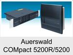 Meine neue Telefonanlage wird eine Auerswald COMpact 5200R oder COMpact 5200