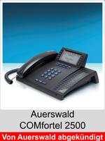 Freischaltungen und Funktionserweiterungen: Dongle-Freigaben und Freischaltcodes für Auerswald COMfortel 2500