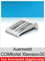 Erweiterung für COMfortel Systemtelefone: Auerswald COMfortel Xtension30 Weiss