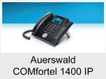 Auerswald COMfortel 1400 IP: Schnurgebundenes IP-Systemtelefon mit Headsetanschluss