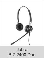 Jabra BIZ 2400 Duo: Schnurgebundenes Headset
