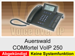 Auerswald COMfortel VoIP 250: Schnurgebundenes IP-Telefon ohne Headsetanschluss