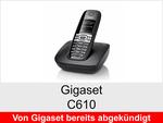 Archiv - Schnurloses Telefon: Gigaset C610