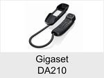 Schnurgebundenes Telefon: Gigaset DA210
