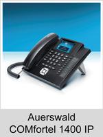 Freischaltungen und Funktionserweiterungen: Dongle-Freigaben und Freischaltcodes für Auerswald COMfortel 1400 IP