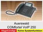 Auerswald  COMfortel VoIP 250  (EOL): Schnurgebundenes IP-Telefon ohne Systemfunktionalität
