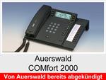 Archiv - Schnurgebundenes ISDN Telefon: Auerswald COMfort 2000