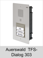 Türsprechtechnik: Auerswald TFS-Dialog 303