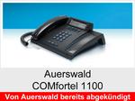 Auerswald COMfortel 1100: Schnurgebundenes ISDN-Systemtelefon ohne Headsetanschluss