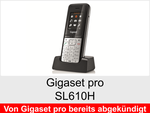 Gigaset pro SL610H: Schnurloses Telefon (IP-DECT System)