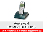 Archiv - Schnurloses analog Telefon: Auerswald COMfort  DECT 610
