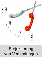 Auerswald Upgrade-Center - Funktionserweiterungen und Freischaltungen für Anlagen und Telefone: Projektierung von Verbindungen