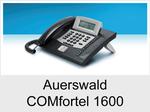 Auerswald COMfortel 1600: Schnurgebundenes ISDN-Systemtelefon mit Headsetanschluss