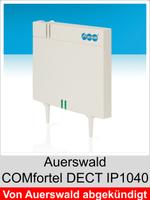 Freischaltungen und Funktionserweiterungen: Dongle-Freigaben und Freischaltcodes für Auerswald COMfortel DECT IP1040