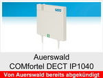 Archiv - Schnurloses IP Telefon: Auerswald COMfortel DECT IP1040