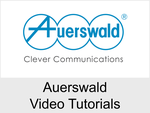 Auerswald Video Tutorials