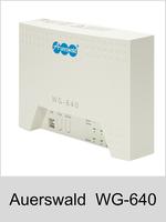 Wählgerät und Temperatur-Registriergerät: Auerswald WG-640