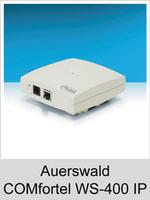 Freischaltungen und Funktionserweiterungen: Dongle-Freigaben und Freischaltcodes für Auerswald COMfortel WS-400 IP