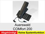 Archiv - Schnurgebundenes analoges Telefon: Auerswald COMfort 200