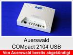 Archiv - Telefonanlage: Auerswald COMpact 2104 USB