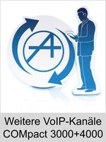 Auerswald Upgrade-Center - Funktionserweiterungen und Freischaltungen für Anlagen und Telefone: Weitere VoIP-Kanäle