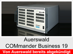 """Funktionserweiterungen und Freischaltungen für Auerswald COMmander Business 19"""": Automatische Zentrale"""